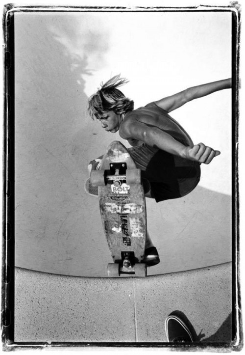 Hitting the lip, Jay Adams style.